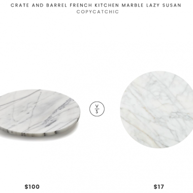 Daily Find | Crate and Barrel French Kitchen Marble Lazy Susan