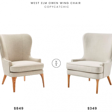Daily Find | West Elm Owen Wing Chair