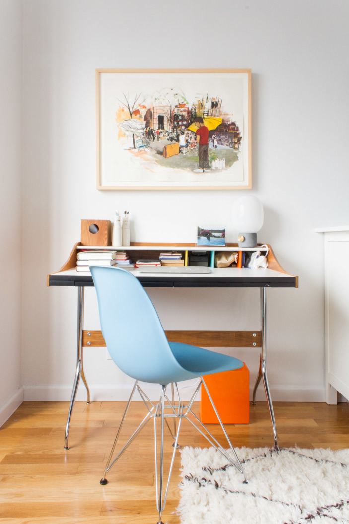 Daily Find Design Within Reach Nelson Swag Leg Desk