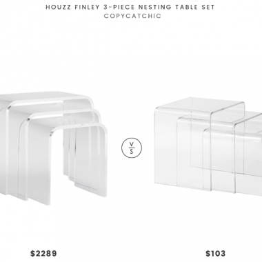 Daily Find | Houzz Finley 3-Piece Nesting Table Set