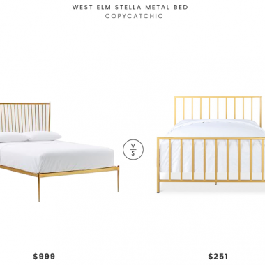 Daily Find | West Elm Stella Metal Bed