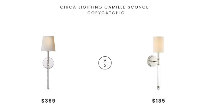 Circa Lighting Camille Sconce Copycatchic