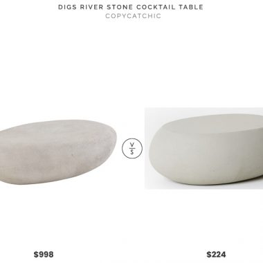 Daily Find | Digs River Stone Cocktail Table