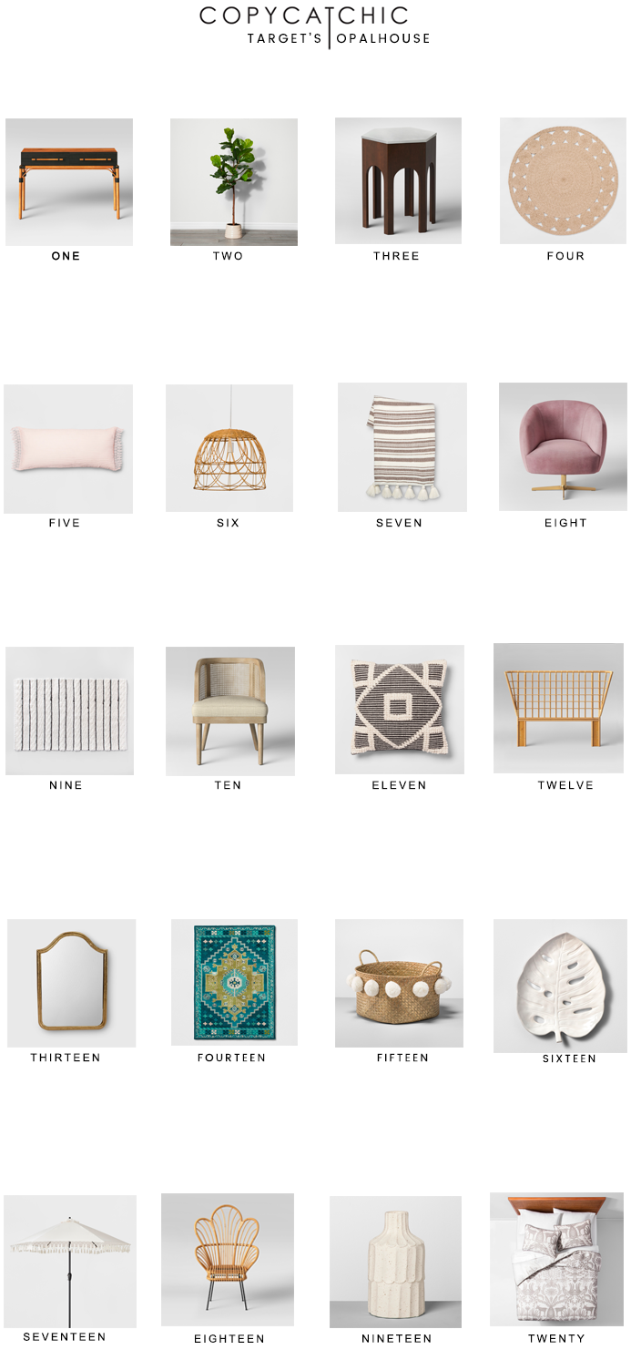 The best of Target's newest Opalhouse collection | Our favorites copycatchic luxe living for less budget home decor and design