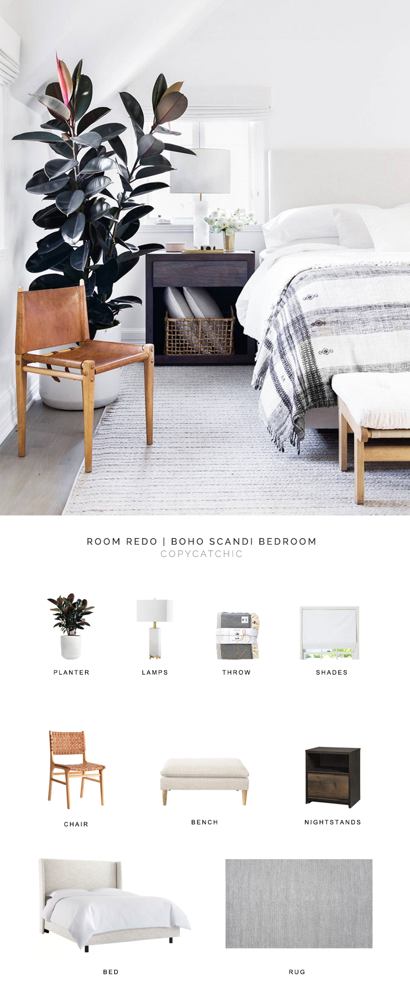 Erin Fetherston's gorgeous modern boho bedroom gets recreated for less by copycatchic luxe living for less budget home decor and design daily finds and room redos