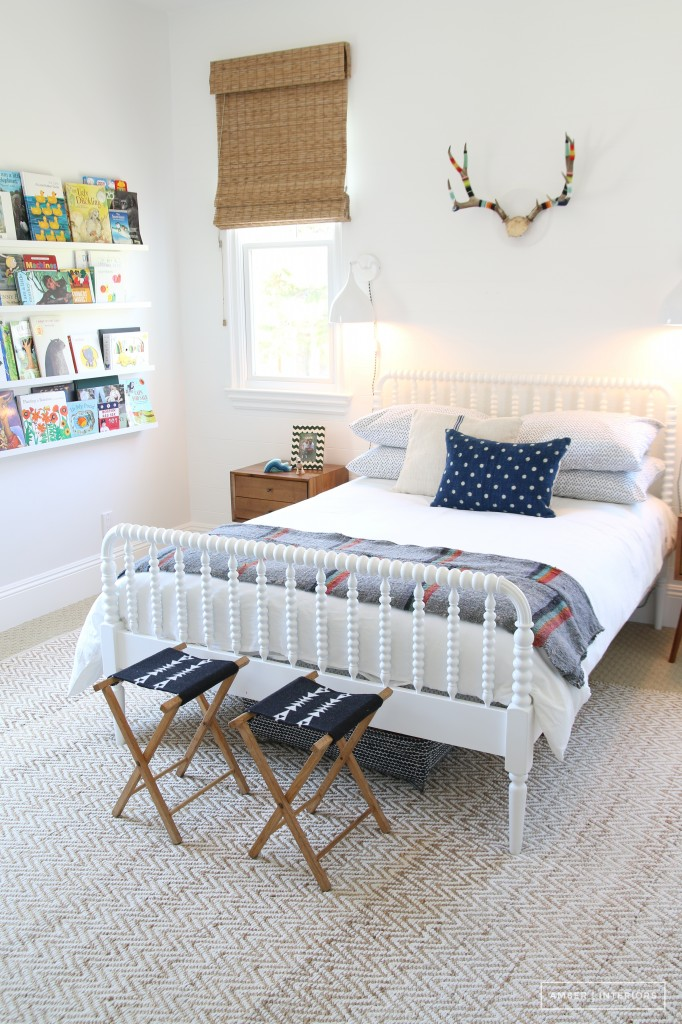 Crate & Barrel White Twin Jenny Lind Bed $499 vs Wayfair Rowan Valley Linden Slat Bed $276 jenny lind spindle bed look for less copycatchic luxe living for less budget home decor and design daily finds and room redos