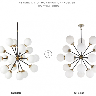 Daily Find | Serena & Lily Morrison Chandelier