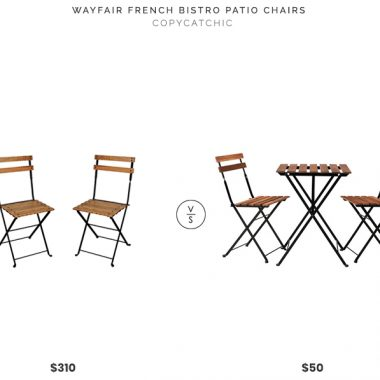 Daily Find | Wayfair French Bistro Patio Chairs