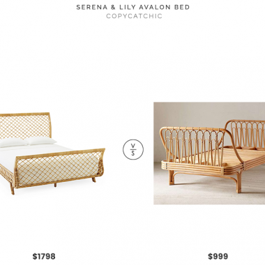 Daily Find | Serena & Lily Harbour Cane Headboard