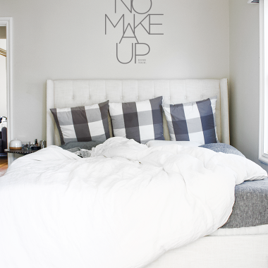 A no makeup home tour of our new house copycatchic luxe living for less budget home decor and design daily finds and room redos