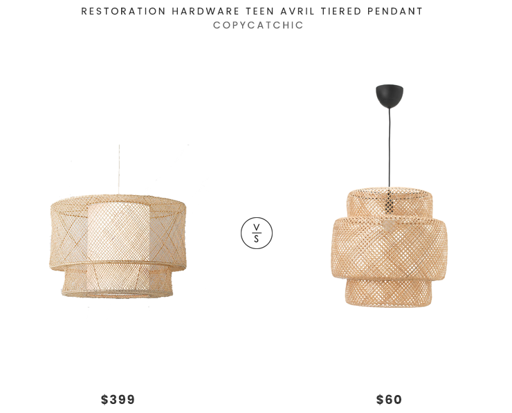 Daily Find | Restoration Hardware Teen Avril Tiered Pendant