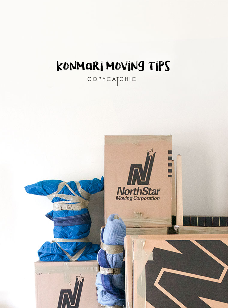 How to use the konmari method to declutter when moving to a new home | In partnership with NorthStar Moving Co | copycatchic luxe living for less budget home decor and design daily finds, home trends and room redos