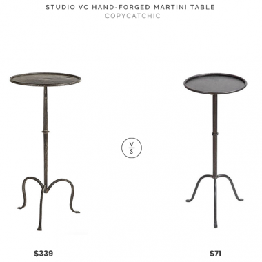 Daily Find | Studio VC Hand-Forged Martini Table