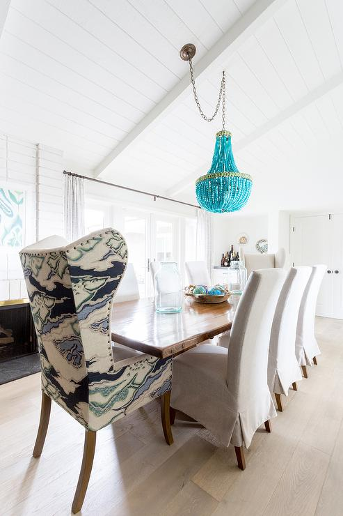 Currey and Company Turquoise Chandelier $4740 vs World Market Turquoise Wood Bead Teardrop Chandelier $100 turquoise wood beaded chandelier look for less copycatchic luxe living for less budget home decor and design daily finds, home trends and room redos