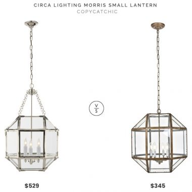 Circa Lighting Morris Small Pendant vs $529Overstock Caro Collection Pendant $345 morris pendant look for less copycatchic luxe living for less budget home decor and design, daily finds, room redos and home trends