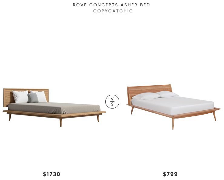 Rove Concepts Asher Bed 1730 Vs Scandis Bolig Bed 799