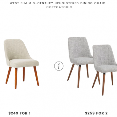 Daily Find | West Elm Mid-Century Upholstered Dining Chair
