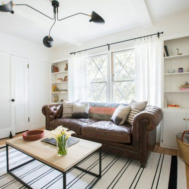 Aisling Mittman's eclectic masculine den with vintage accents featured on Rue Magazine gets recreated for less by copycatchic luxe living for less budget home decor and design daily finds, room redos and home trends