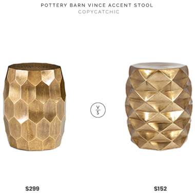 Daily Find | Pottery Barn Vince Accent Stool