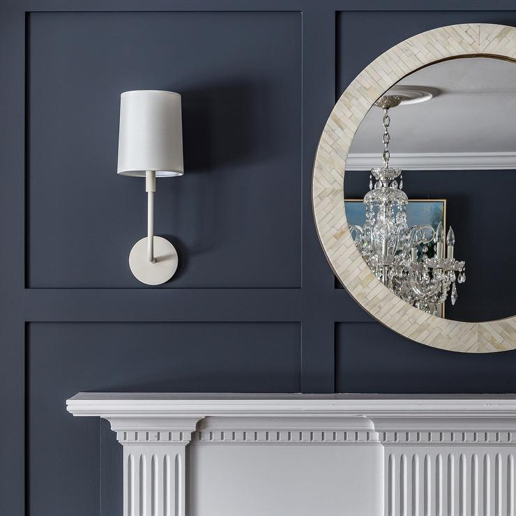 Pottery Barn Miranda Capiz Round Mirror $349 vs Pier1 Ivory Mother-of-Pearl Round Mirror $169 round capiz mirror look for less copycatchic luxe living for less, budget home decor and design, daily finds, home trends and room redos