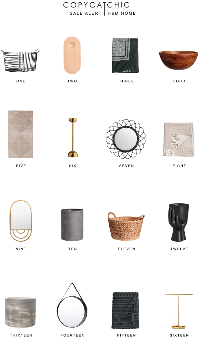 The best deals from H&M's home sale copycatchic luxe living for less budget home decor and design, daily deals, home trends and room redos