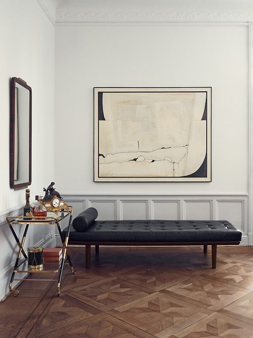 Rove Concepts Pavillion Bench $1495 vs Overstock Oliver & James Andalucia Black Leather Bench $335 barcelona bench sofa look for less copycatchic luxe living for less budget home decor and design daily finds, home trends, sales and room redos