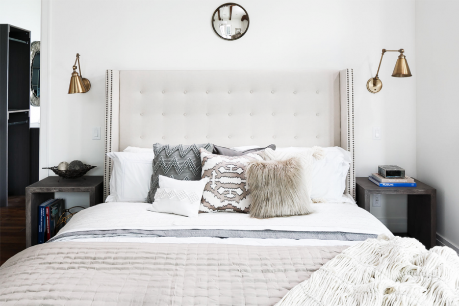 Our favorite bed picks on a budget under $800 at RCWilley | copycatchic luxe living for less budget home decor and design, daily finds, budget travel, home trends, sales and room redos