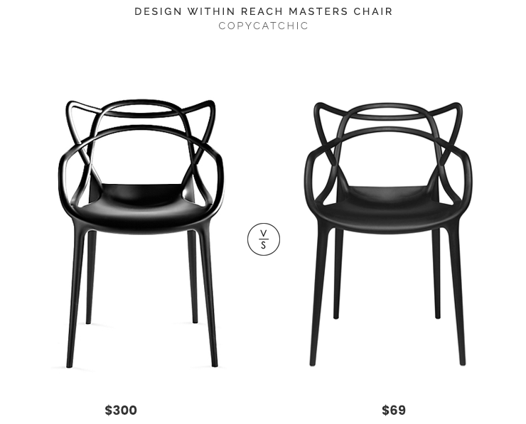 Design Within Reach Masters Chair $300 vs Modway Entangled Modern Dining Chair $69 entangled modern chair look for less copycatchic luxe living for less budget home decor and design daily finds, home trends, sales and room redos