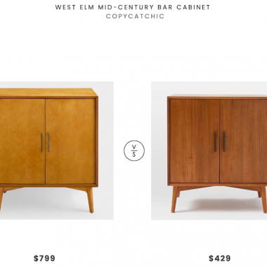 Daily Find | West Elm Mid-Century Bar Cabinet