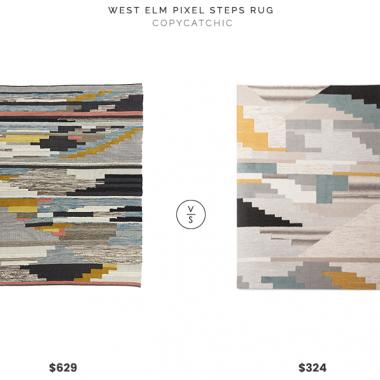 Daily Find | West Elm Pixel Steps Rug