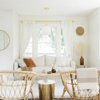 This scandi desert style living room designed by Ezz Wilson gets recreated for less by copycatchic luxe living for less budget home decor and designs, daily finds, home trends, sales, budget travel and room redos