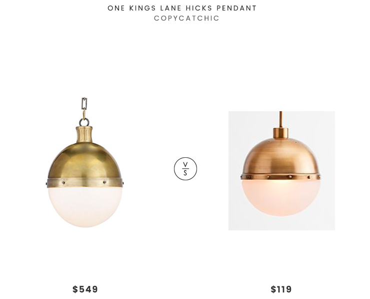 Daily Find One Kings Lane Hicks Pendant Copycatchic