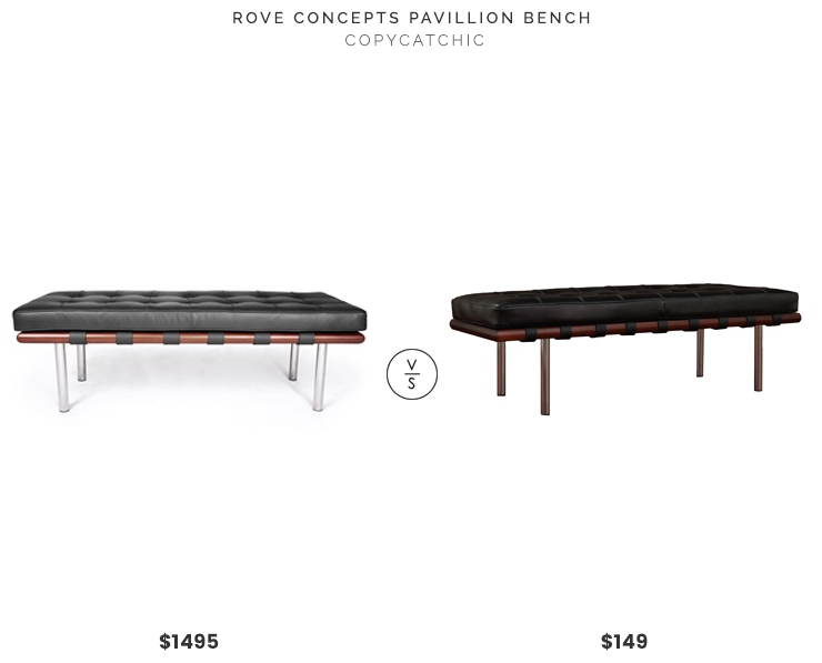 Daily Find | Rove Concepts Pavillion Bench