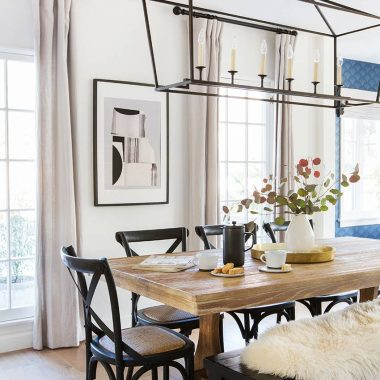 This scandi style modern farmhouse dining room designed by Ginny Macdonald gets recreated for less by copycatchic luxe living for less budget home decor and design, daily finds, budget travel, home trends, sales and room redos