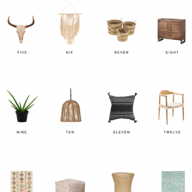 Home Trends | Boho Walmart Finds
