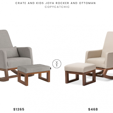 Daily Find | Crate and Kids Joya Rocker and Ottoman