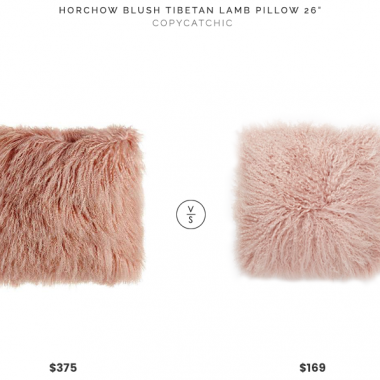 Daily Find | Horchow Tibetan Lamb Pillow