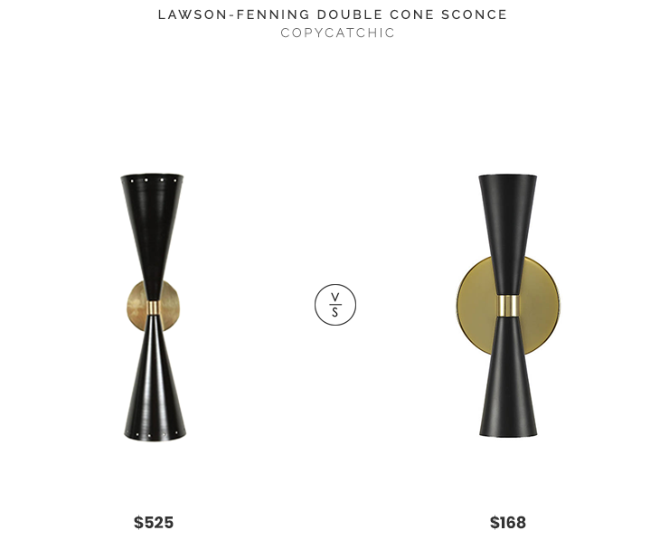 Daily Find | Lawson-Fenning Double Cone Sconce