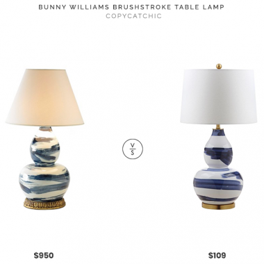 Daily Find | Bunny Williams Brushstroke Table Lamp
