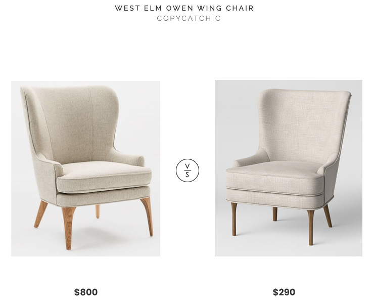 Daily Find West Elm Owen Wing Chair
