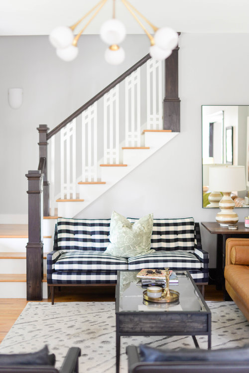 Schoolhouse Jackson Loveseat $2200 vs. Kardiel Elektra Loveseat $900, buffalo check loveseat look for less, copycatchic luxe living for less, budget home decor and design, daily finds, home trends, sales, budget travel and room redos