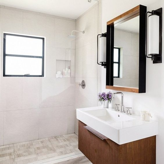 Blu Dot Mirror Mirror, Small$499 vs. Amazon Rivet Modern Wood and Iron Mirror$56, modern wood frame mirror look for less, copycatchic luxe living for less, budget home decor and design, daily finds, home trends, sales, budget travel and room redos