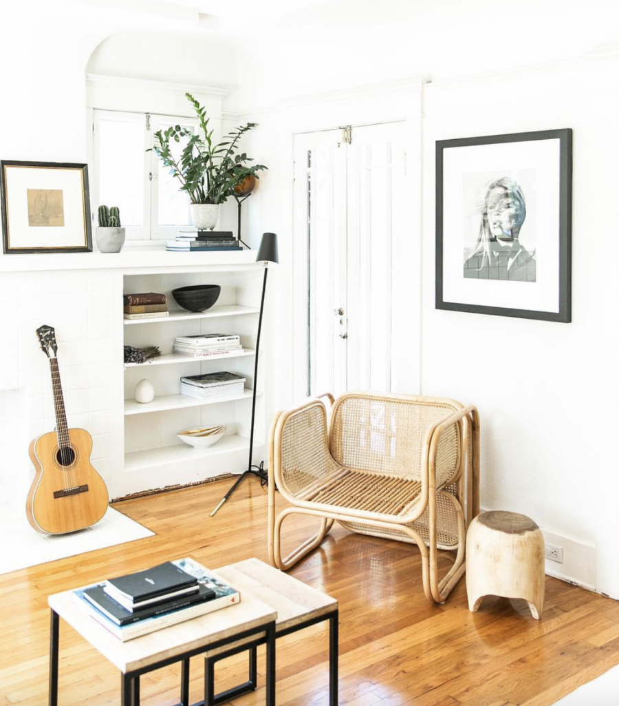 Hati Hati Home Rattan & Cane Chair $750 vs. Urban Outfitters Marte Lounge Chair $379, rattan arm chair look for less, copycatchic luxe living for less, budget home decor and design, daily finds, home trends, sales, budget travel and room redos