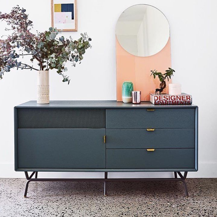 Blu Dot Dang Console $1799 vs. All Modern Dayton TV Stand $235, gray media console look for less, copycatchic luxe living for less, budget home decor and design, daily finds, home trends, sales, budget travel and room redos