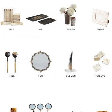 horn decor for less, faux horn decor, horn home decor, horn accessories, copycatchic luxe living for less, budget home decor and design, daily finds, home trends, sales, budget travel and room redos