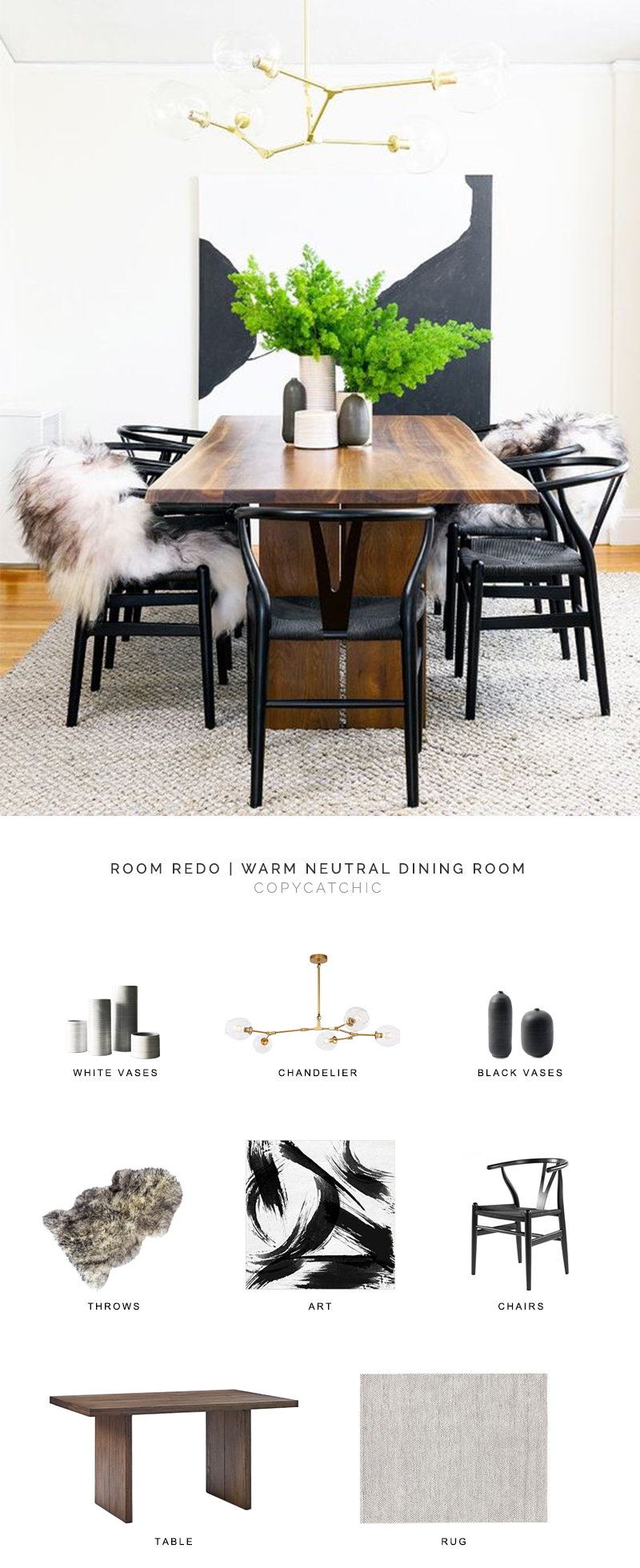 modern minimal dining room look for less, copycatchic luxe living for less, budget home decor and design, daily finds, home trends, sales, budget travel and room redos