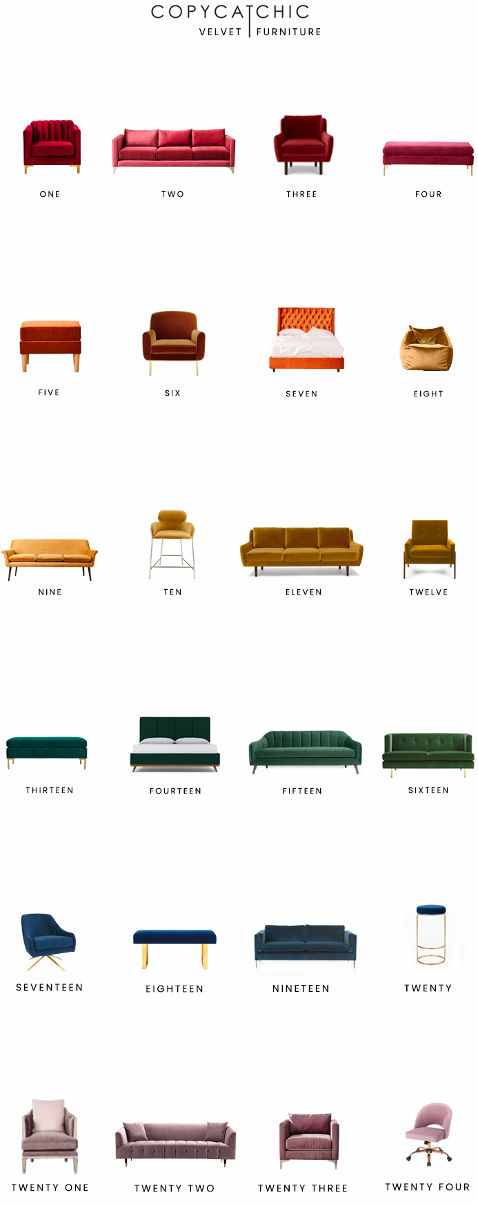 velvet furniture for less, copycatchic luxe living for less, budget home decor and design, daily finds, home trends, sales, budget travel and room redos