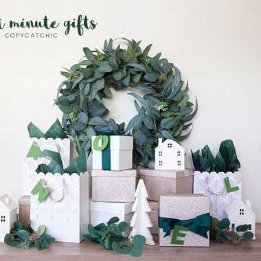Modern minimalist stylish last minute gift ideas for everyone. Holiday Gift guide Copy Cat Chic hipster favorites for the whole family | Luxe living for less