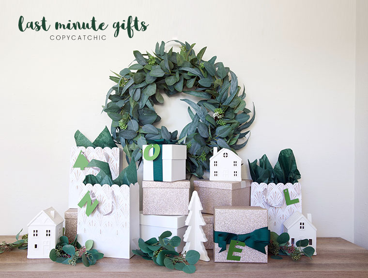 Modern minimalist stylish last minute gift ideas for everyone. Holiday Gift guide Copy Cat Chic hipster favorites for the whole family   Luxe living for less