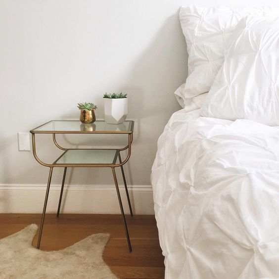 West Elm Organic Pintuck Duvet Cover $118 for twin with one sham vs. JC Penny Truly Soft Everyday Pleated Duvet Cover Set $60 for twin with one sham, white pintuck bedding look for less, copycatchic luxe living for less, budget home decor and design, daily finds, home trends, sales, budget travel and room redos